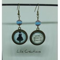 """Boucles d'oreilles """"Alice,..."""