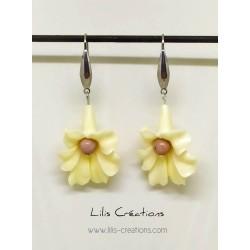 """Boucles d'oreilles """"Fleur""""..."""