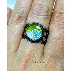 "copy of Bague ""Licorne"""