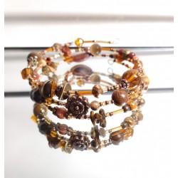 Bracelet 3 tours à mémoire...