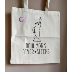 "Tote-bag ""New York"""