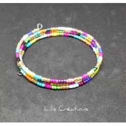 Bracelet 3 tours en perles...