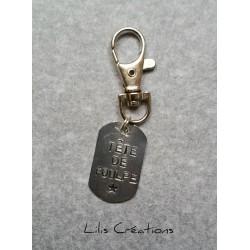 Porte-clés personnalisable,...