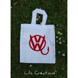 "Mini Sac Tote-bag ""Diable..."