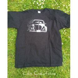 "T-shirt homme ""VW"", manches..."
